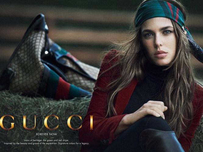 Gucci reklamlarında bir prenses