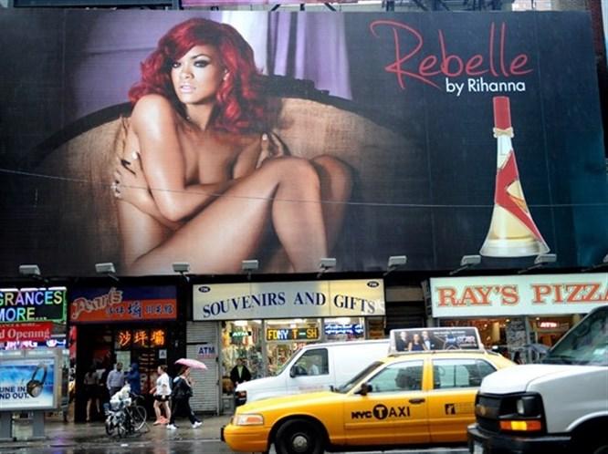 O kalça Rihanna'ya aitmiş