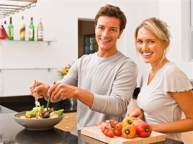 Evli kadın hep kilo alır!