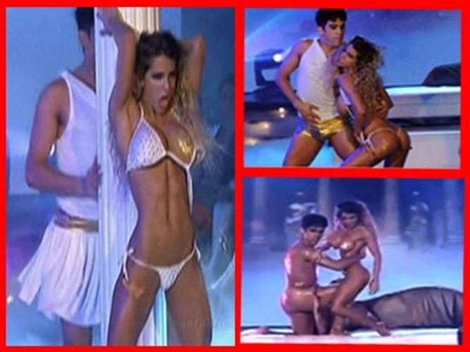 Çıplak dansa rekor ceza (Video)