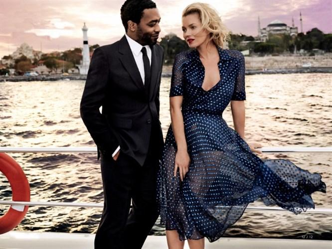 Kate Moss ve Mario Testino ile gerçekleşen moda çekimi!