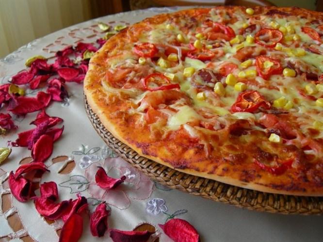 Ramazan pidesinden pizza denediniz mi?