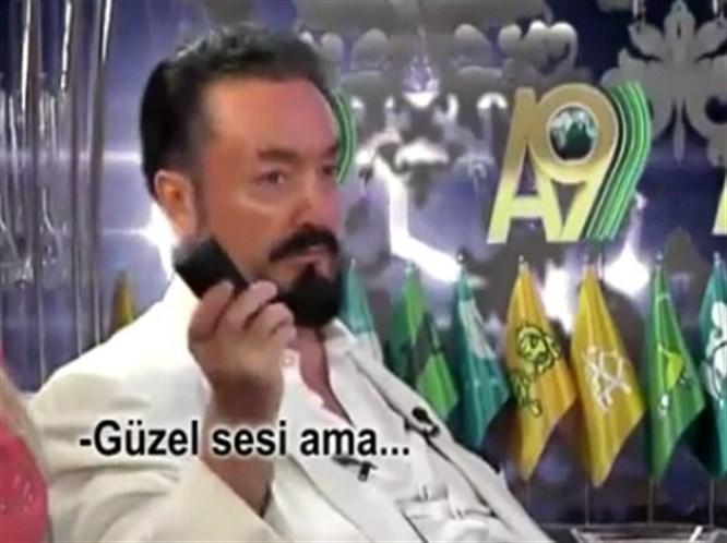 Adnan Oktar'ın Can Bonomo yorumu (VİDEO)