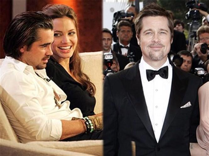 Brad Pitt'i aldattı mı?