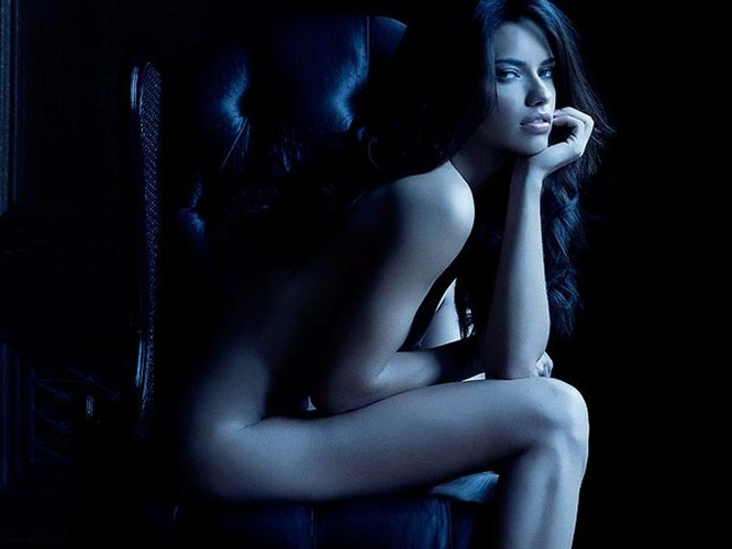Adriana Lima'nın porno filmi...