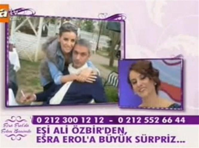 Esra Erol'a canlı yayında 14 Şubat sürprizi