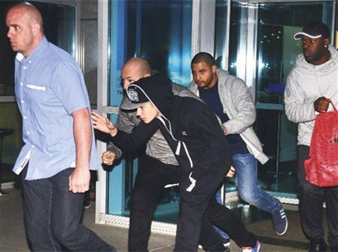 Justin Bieber İstanbul'a geldi, polis kovaladı!