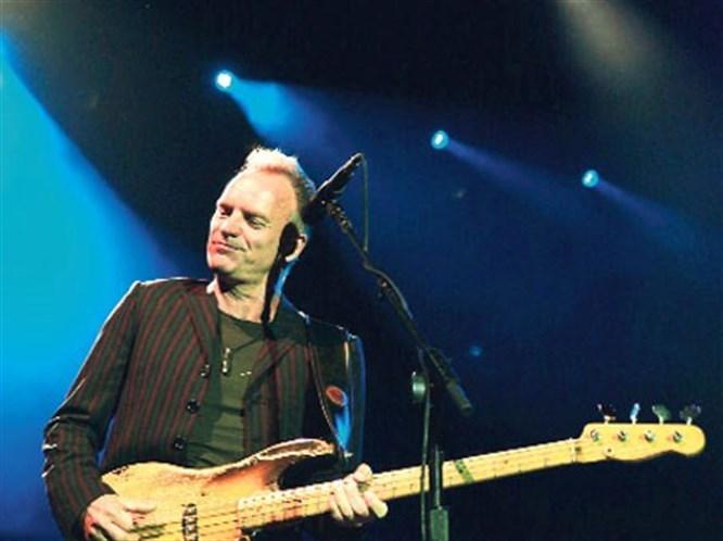 Sting hayranlarıyla İstanbul'da buluşuyor!