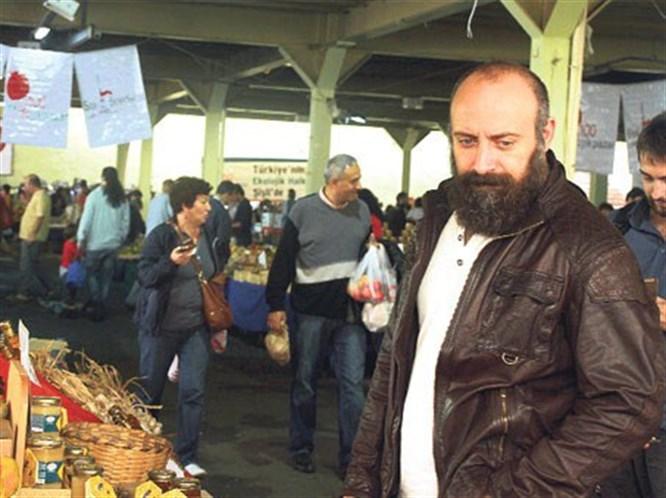 Muhteşem Süleyman 'Organik Pazar'da