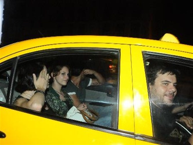 Tekneden taksiye