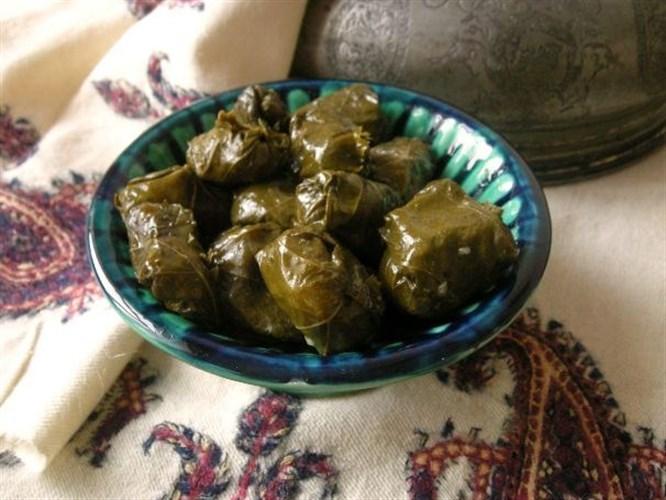 Azeri usulü yaprak sarması