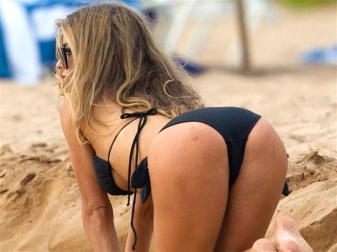 Carmen plajı salladı