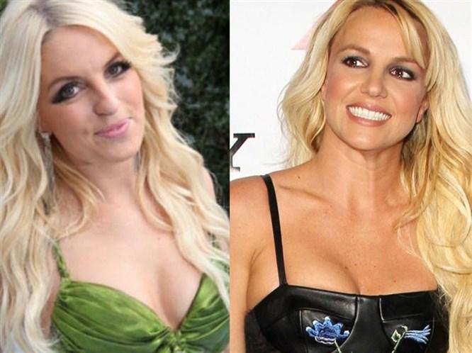 Spears'a benzerliği zengin etti