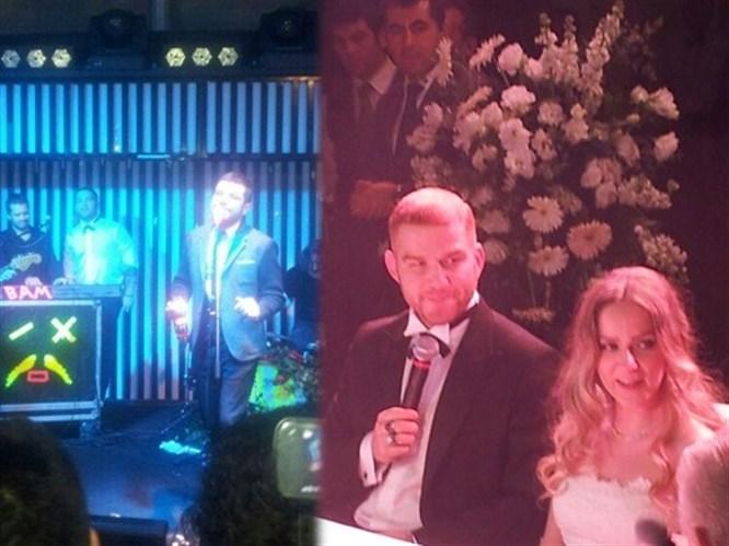 Athena Gökhan evlendi