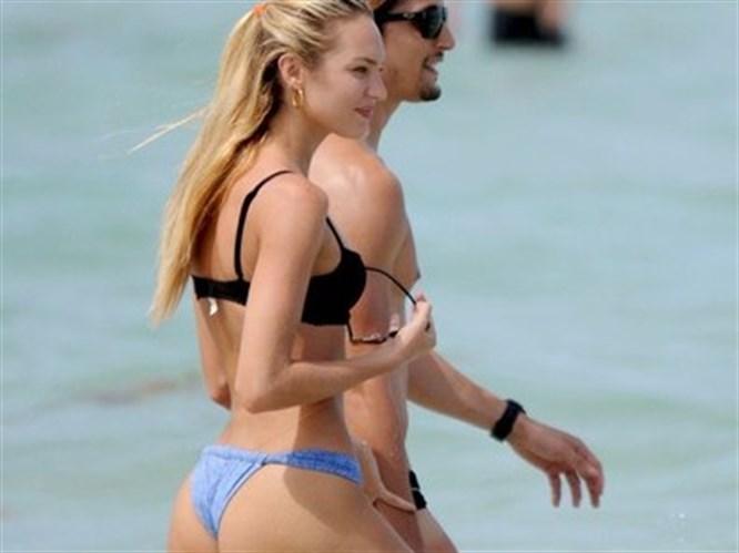 Candice ilk aşkıyla tatilde