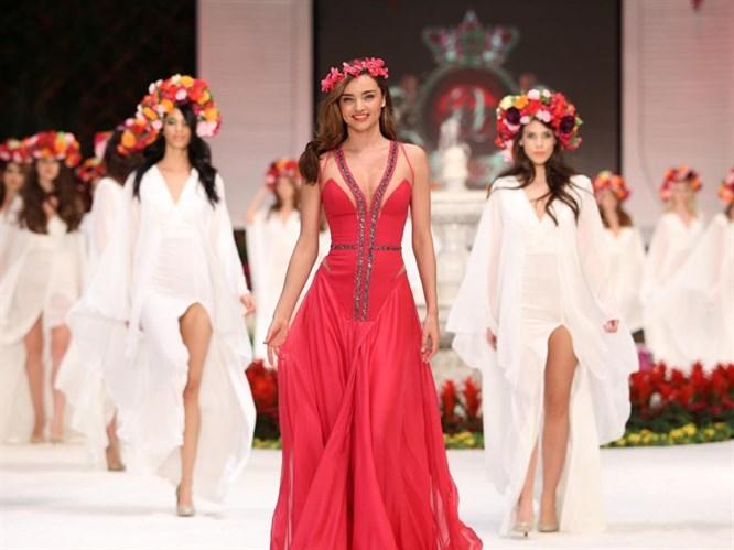 Top Model Miranda Kerr Antalya'da!