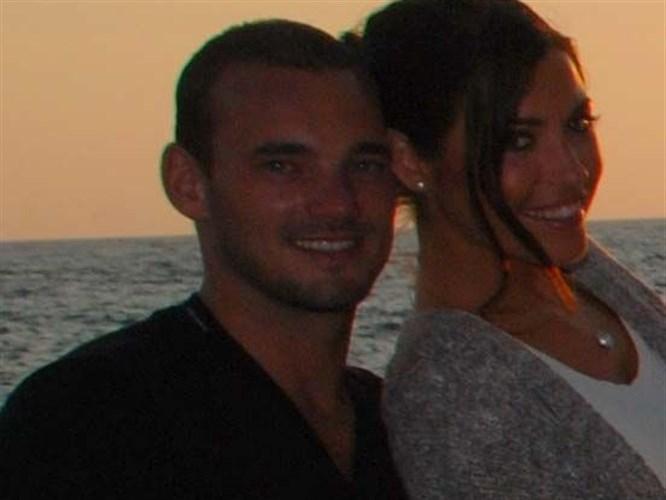 Sneijder Türkiye'de tatil yapmıştı