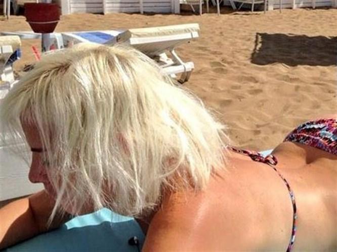 Bikinili fotoğrafını paylaşınca...