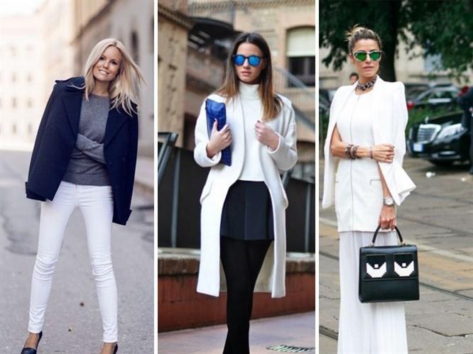 Kışın Beyaz Giymenin Yolları