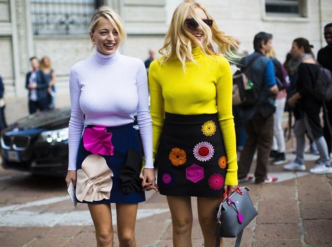 Moda Haftalarından Sokak Stilleri
