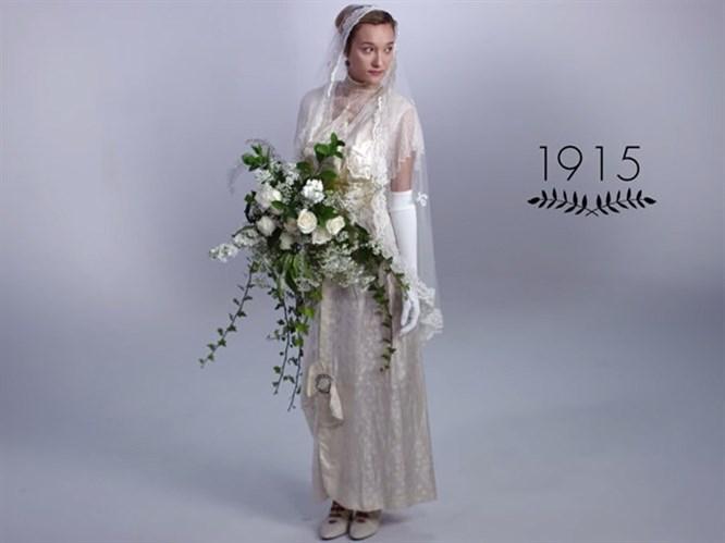 Gelinlik Modasının 100 Yıllık Tarihi (Video)