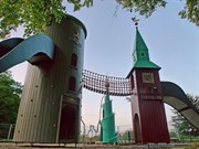 Büyüklere Tasarım Harikası Oyun Parkları