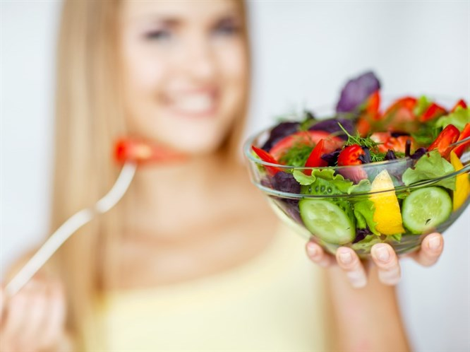 Salata Diyetiyle 6 Kilo Verin!