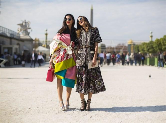 Paris Moda Haftasi 2016 İlkbahar-Yaz Sokak Stilleri