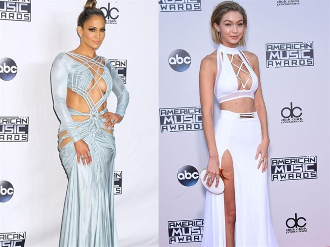 2015 Amerikan Müzik Ödülleri'nde Şıklık Yarışı