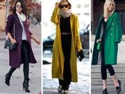Bu Kışın Renkleriyle Palto Kombinleri