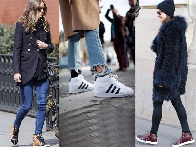 Trend: Bilekli Spor Ayakkabı