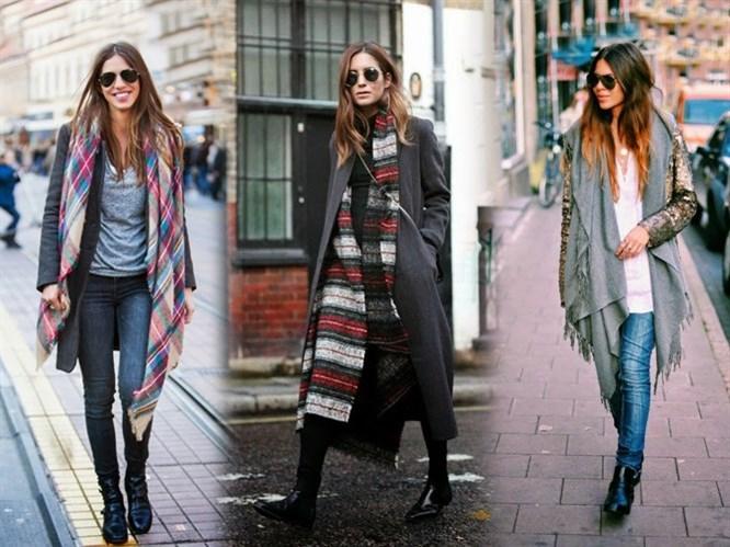 Moda: Uzun Şallar!