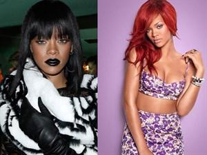 Rihanna Ve Çılgın Saçları!