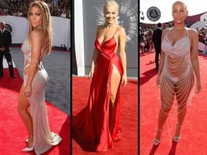 2014 Yılının Çok Konuşulan Kırmızı Halı Elbiseleri