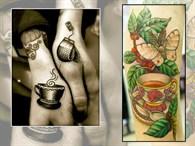 Çay Severler İçin Dövme Modelleri