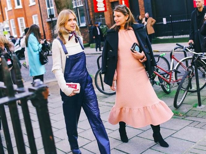 Londra  Moda Haftası 2015-2016 Sonbahar/Kış  Sokak Stilleri