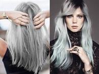 En Yeni Saç Trendi Gri Saçlar