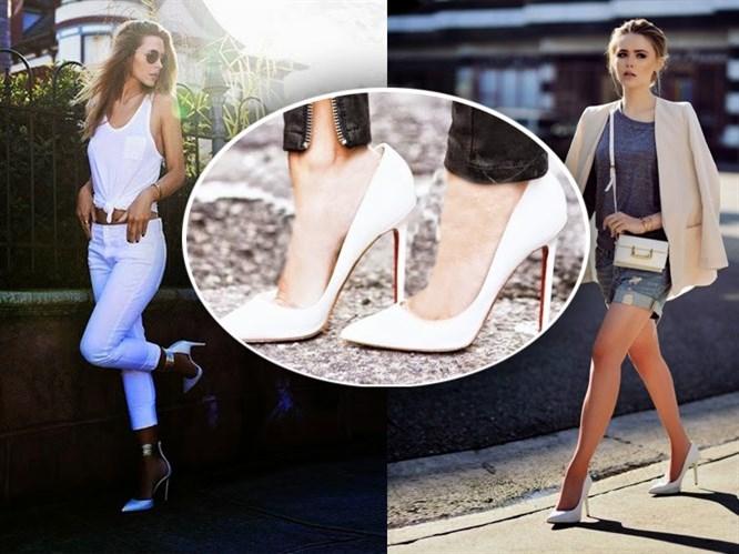 Trend: Beyaz Stiletto!