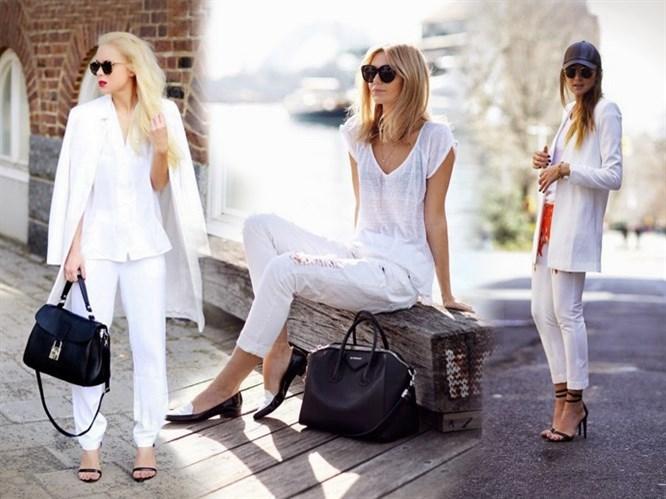 Bahar Modasında Beyaz Kombin Önerileri!