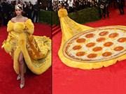 Rihanna'nın Elbisesine Benzeyen Komik Cisimler