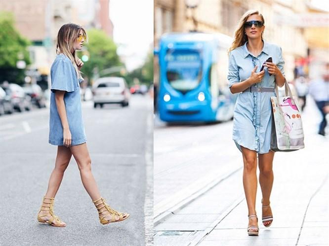 Trend: Jean elbise