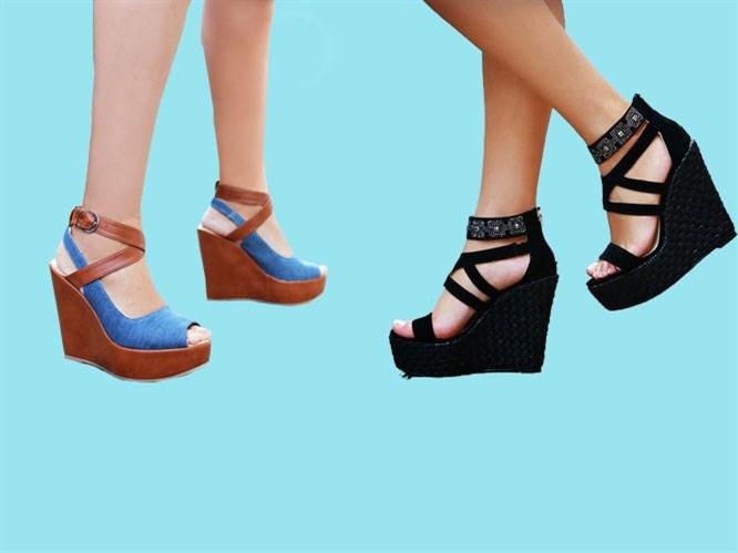Trend: Dolgu Topuk Sandalet