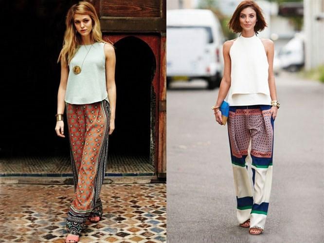 Sokak Modası: Bol Paça Pantolon