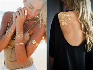 Bu Yazın Trendi Birbirinden Güzel 25 Metalik Dövme