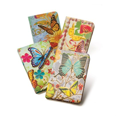 Keskin Color'dan Kelebek Desenli Bloknot Koleksiyonu