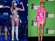 Miley'nin Garip MTV Giysileri