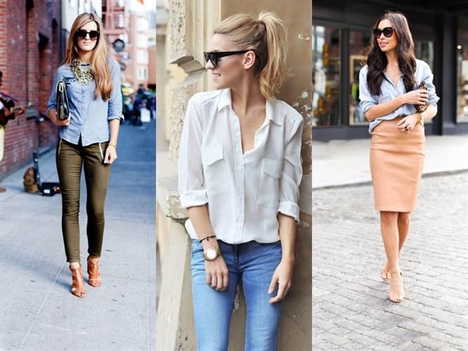 Gömlek Kombinleri: Pantolon mu Etek mi?