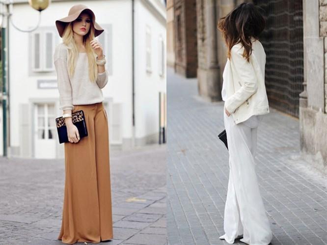 Bol Paçalı Pantolon Nasıl Giyilir?