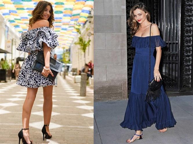 Sokak Modası: Fırfırlı Elbiseler