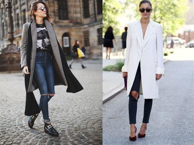 Trend: Dizleri Yırtık Jean'ler